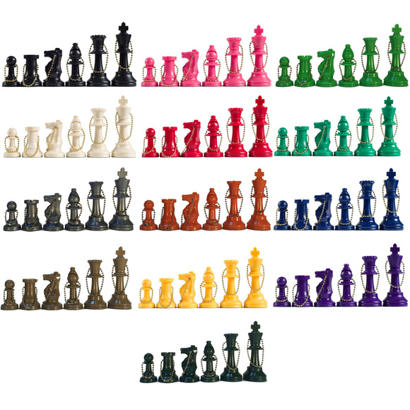 Keychain Chess Pieces