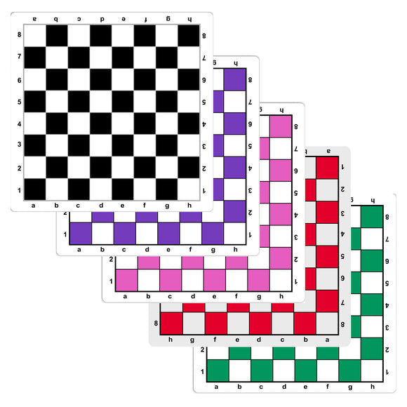 Mousepad Chess Boards