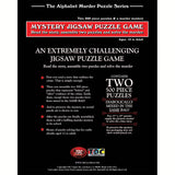 Mystery Jigsaw Puzzle Game – B Is For Birthday – Two, 500 piece puzzles - American Chess Equipment
