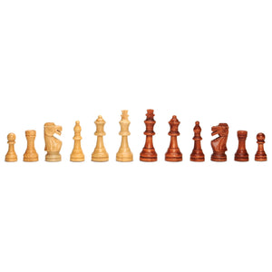 Classic Staunton Chessmen – Weighted Wood with 3.75 in. King - American Chess Equipment