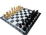WE Games Garden Chess Set – Large 8 inch King, 35.5 inch Board - American Chess Equipment