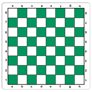 Mousepad Tournament Chess Board in Assorted Colors, 20 inches by WE Games - Made in the USA - American Chess Equipment