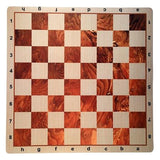 Customized Mousepad Tournament Chess Board in Assorted Colors, 20 inches - Made in the USA - American Chess Equipment