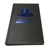 WE Games Hardcover Chess Scholastic Scorebook – Matte Black - American Chess Equipment