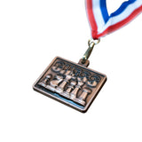 Ultimate Chess Medal - Available in Gold, Silver, & Bronze - American Chess Equipment