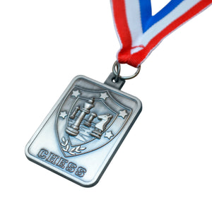 ACE Exclusive Chess Medal - Available in Gold, Silver, & Bronze - American Chess Equipment
