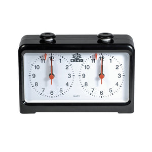 Royal Crest Analog Chess Clock/Timer by WE Games - American Chess Equipment
