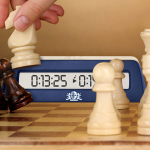 WE Games Digital Chess Clock/Game Timer with delay button - American Chess Equipment