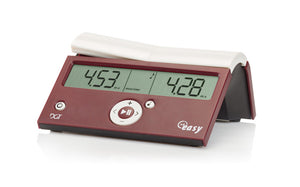 DGT Easy Digital Clock - In assorted colors - American Chess Equipment