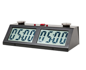 ZMF Pro Digital Clock - Available in Black, Blue & White - American Chess Equipment