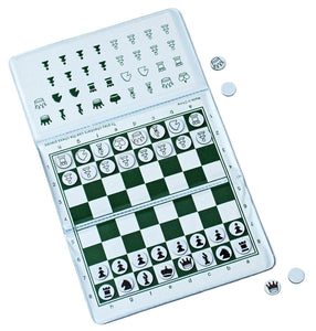 Ultimate Checkbook Magnetic Chess Set (New & Improved)- by WE Games - American Chess Equipment