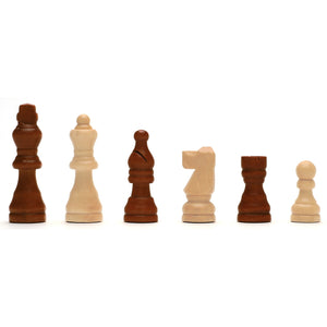Classic Chess Set – Walnut Wood Board 12 in. - American Chess Equipment