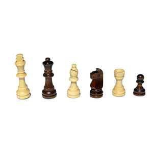 Book Style Folding Chess Set – Oak Wood Board 11 in. - American Chess Equipment