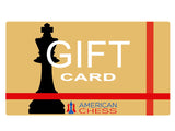 American Chess Equipment Gift Card