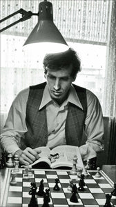 Bobby Fischer Mousepad Roll-up Travel Tournament Chess Boards - Choice of 5 colors - American Chess Equipment