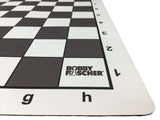 Bobby Fischer Mousepad Roll-up Travel Tournament Chess Boards - Choice of 5 colors