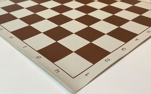 "USA Printed Premium Vinyl Chess Boards - 20"" with 2.25"" squares"
