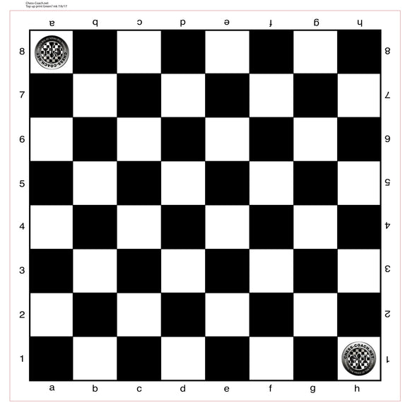 Customized Vinyl Chess Boards - 50 Pack - Great for clubs and schools - American Chess Equipment