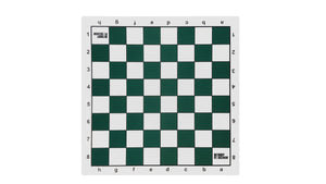 Bobby Fischer Green Tournament Roll-up Chess Board - Vinyl - American Chess Equipment
