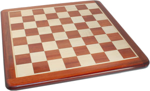 Luxury Chess Board – Redwood with Rounded Corners 21 in.