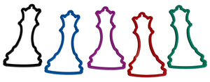 Chess Bandz - all 6 shapes in 5 colors!