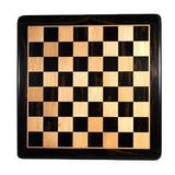 Luxury Staunton Ebony Chess Set – Triple Weighted Pieces with Leather Bottoms & Ebony Wood Board 21 in.
