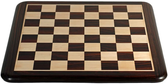Luxury Chess Board – Rosewood with Rounded Corners - Available in 19 and 21 inches