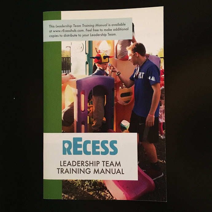 rEcess Leadership Training Manual
