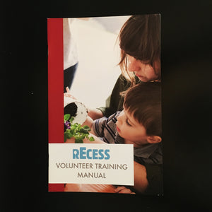 rEcess Volunteer Training Manual