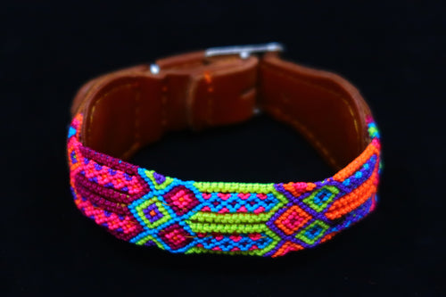 EXTRA SMALL-CHIAPAS- CAT OR DOG COLLAR