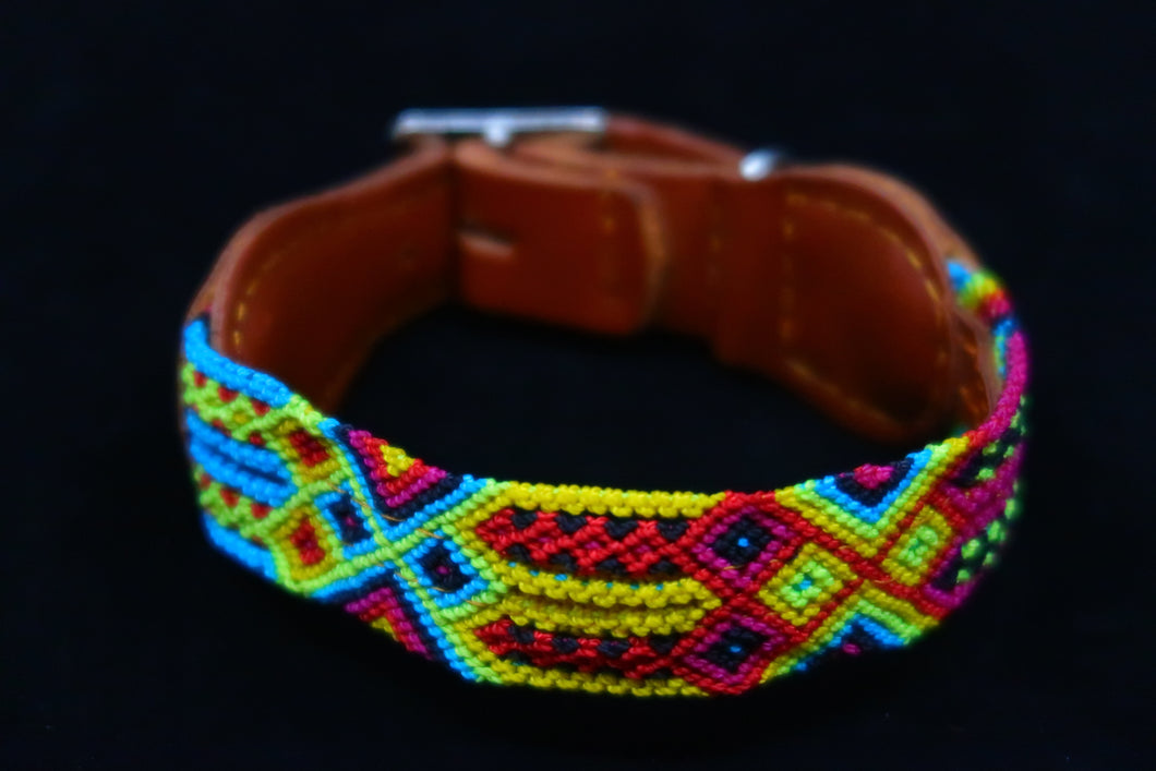 EXTRA SMALL-CHIAPAS-CAT OR DOG COLLAR