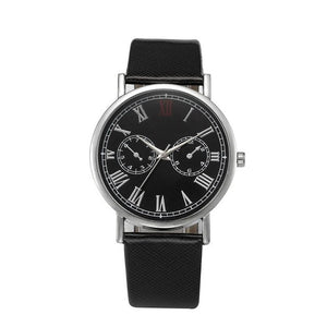 Mens Watch Retro Design Leather Band