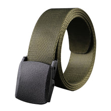 Load image into Gallery viewer, Man Military Style Canvas Web Belt Nylon Belt Casual Style