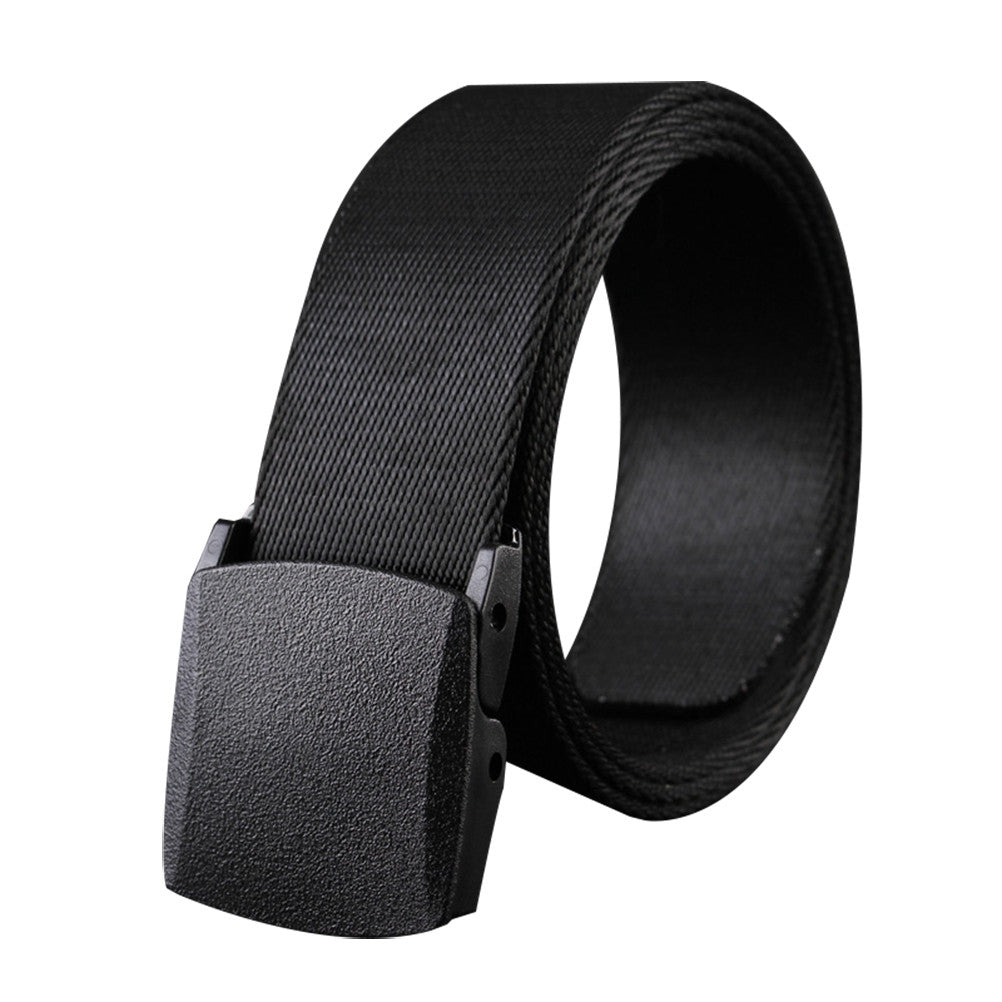 Man Military Style Canvas Web Belt Nylon Belt Casual Style