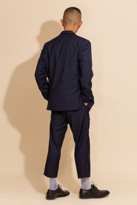 Stitch Oversized Blazer with Tapered Pants