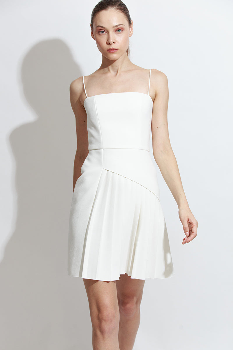 Coil Pleat Dress