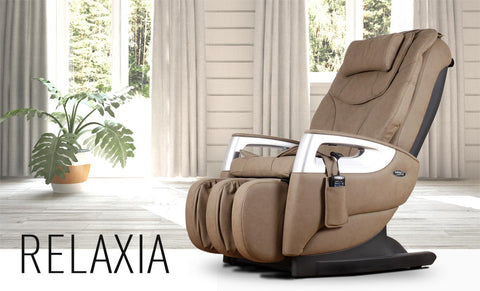 Relaxia Fauteuil de massage semi compact 8 prog. + 7 types de mass.
