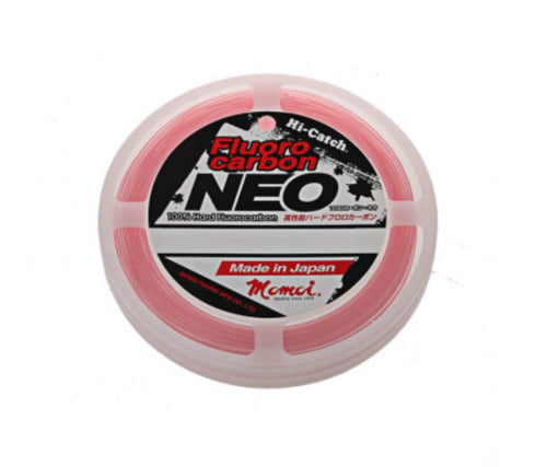 Momoi Hi-Catch NEO Pink Fluoro Carbon 10-150lb
