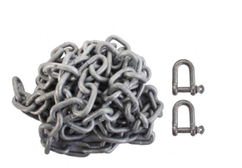 8mm Anchor Chain Pack Marine Grade (DIN 766 Short Link)
