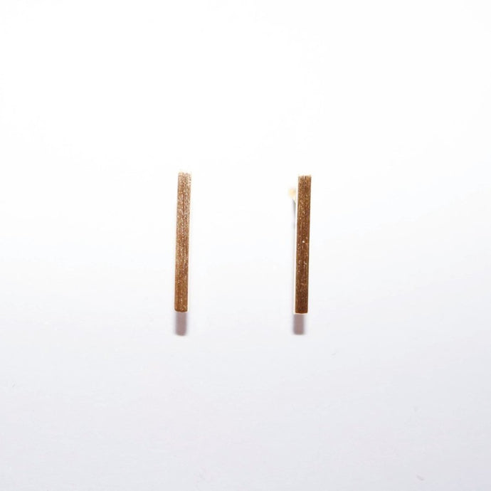 Vertical Bar Earrings (Nickle Free)