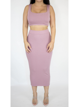 Load image into Gallery viewer, Two Piece Pink Dress