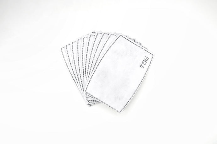 A Pack of 10 Filters