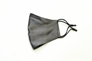 Charcoal Grey Silk Mask with 2 Filters
