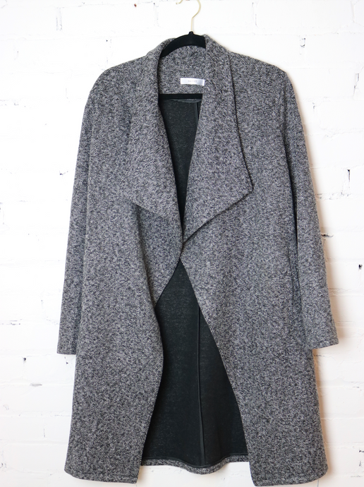 Black and White Speckled Jacket