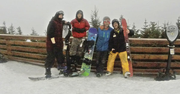 Pro Snow Bums Team Skiers and Snowboarders