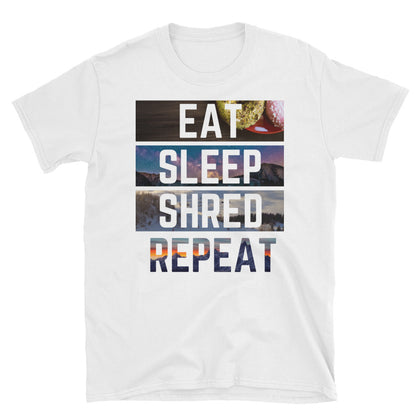 Eat Sleep Shred Repeat T-Shirt