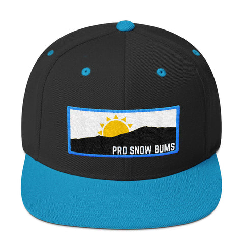 Pro Snow Bums Mountain View Snapback Hat