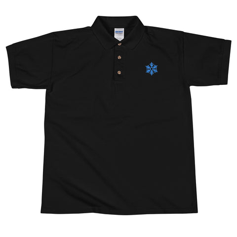 PSB Embroidered Snowflake Polo