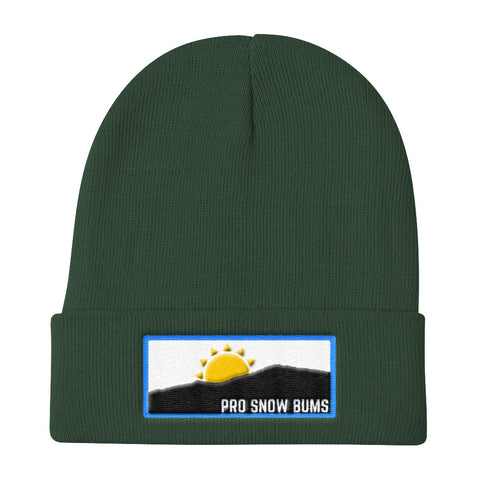Pro Snow  Bums Mountain View Beanie