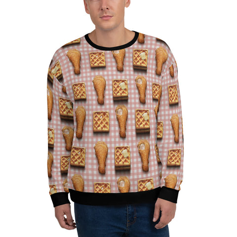 Chicken 'N' Waffle's All-Over Sweatshirt